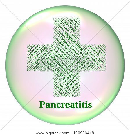 Pancreatitis Illness Means Disability Ailment And Indisposition