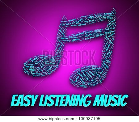 Easy Listening Music Indicates Orchestral Pop And Ensemble