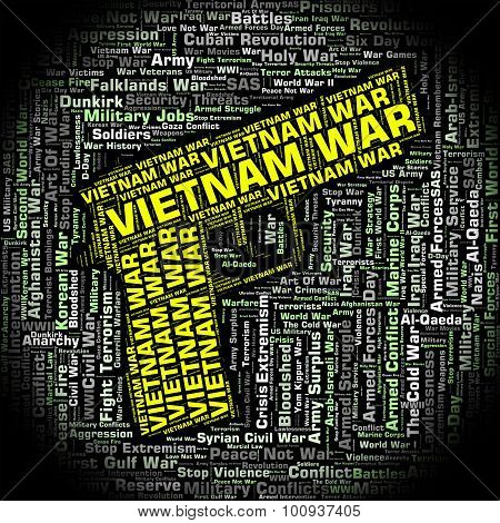 Vietnam War Represents North Vietnamese Army And Combat