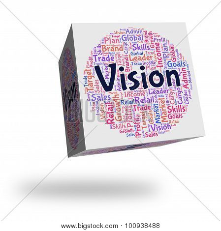 Vision Word Means Plan Future And Prediction