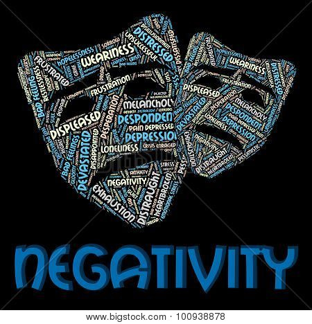 Negativity Word Indicates Negation Unresponsive And Rejecting