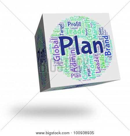 Plan Word Means Proposition Wordclouds And Formula