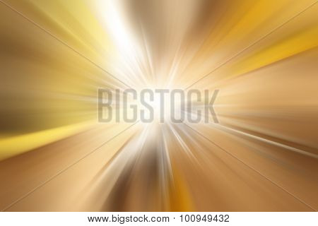 Bright blast of light background