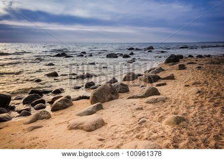 Rocky Baltic sea