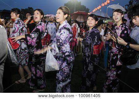 Bon Odori Festival In Malaysia