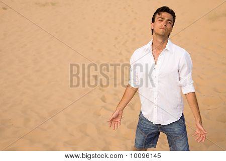 Despair in desert