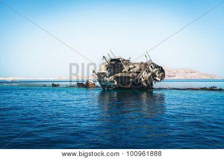The Sunk Ship