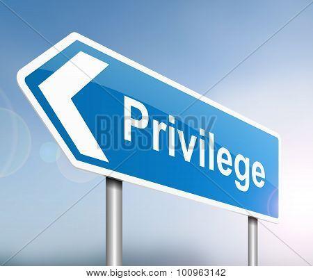 Privilege Concept.
