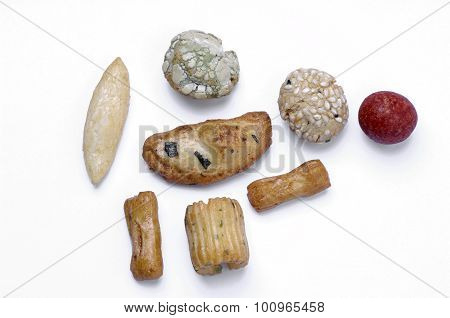 Rice Cakes, Japanese Rice-cracker, Arare