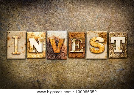 Invest Concept Letterpress Leather Theme