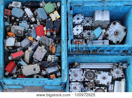 Small Actuators Pile