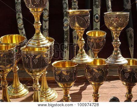 old precious cups