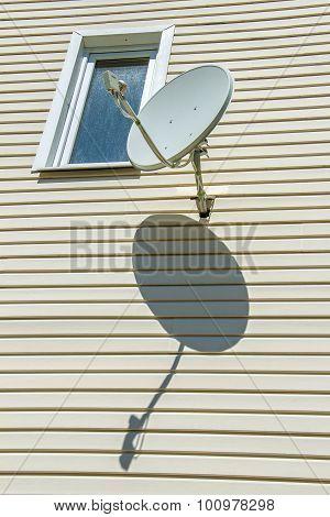 Satellite Antenna On The House
