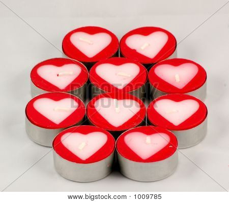 Candle Hearts