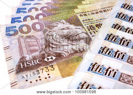 Hong Kong 500-dollar Notes