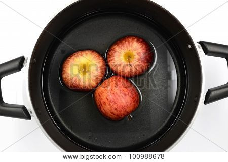 Gala Apple In Pot