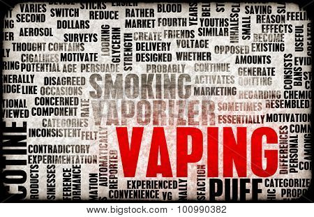 Vaping or an Electronic Cigarette as a Concept