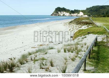 Beach and coastline, North Island, New Zealand