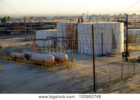 Produced Water Tanks (Oil fields)