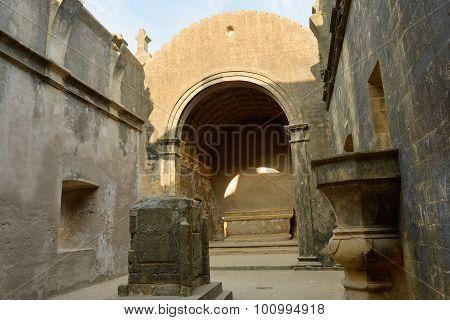 Portuguese Fort In The Diu