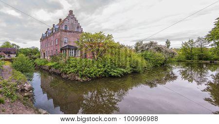 Gamla Kulla Gunnarstorp Castle Panorama