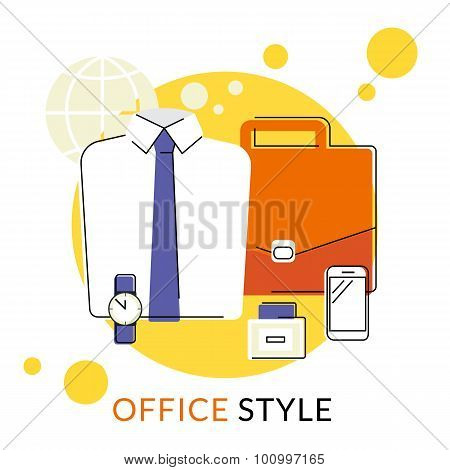 Male office accessories