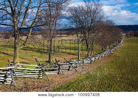 Antietam Landscape in Fall