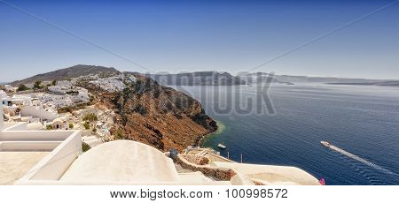 Santorini Caldera Panorama