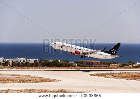Santorini Departure Sas
