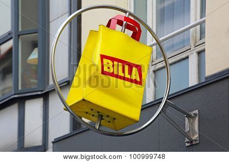 Billa Sign