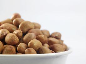 stock photo of ground nut  - close up of the ground nut - JPG