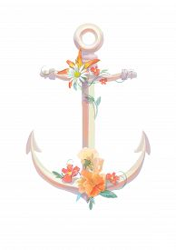 picture of viola  - Watercolor anchor - JPG