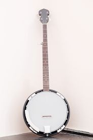 picture of banjo  - The image of a banjo - JPG