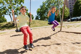 pic of swing  - summer - JPG