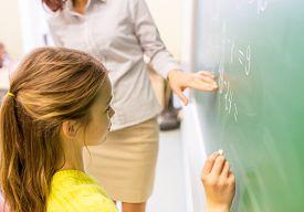 image of schoolgirl  - education - JPG
