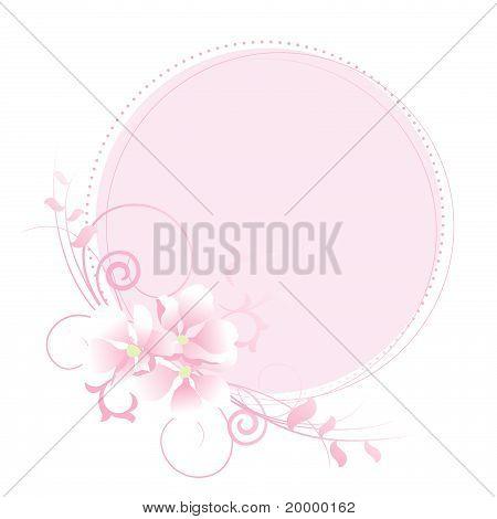 Pastel Bloemenlijst Apple.