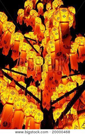 Thai-Stil Dekoration Lampe