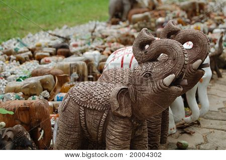 Handwerk-Elefant