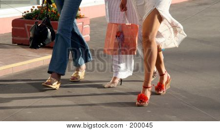 Girls Going Shopping