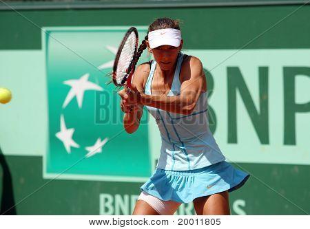 Anastasia Pivovarova (rus) At Roland Garros 2011