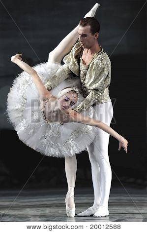 Russian Royal Ballet Perform Swan Lake Ballet