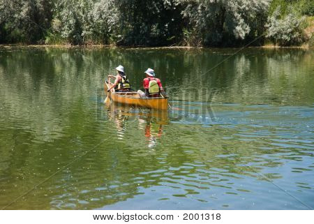 Two In A Canoe