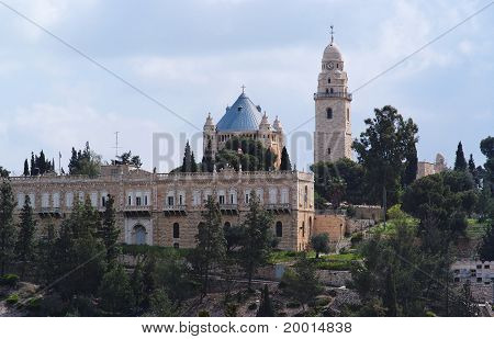 Hagia Maria Sion abbey in the Old City of Jerusalem
