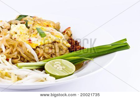 Thai Food Pad Thai , Stir Fry Noodles