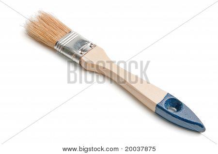 Mean Paintbrush With Stiff Bristles