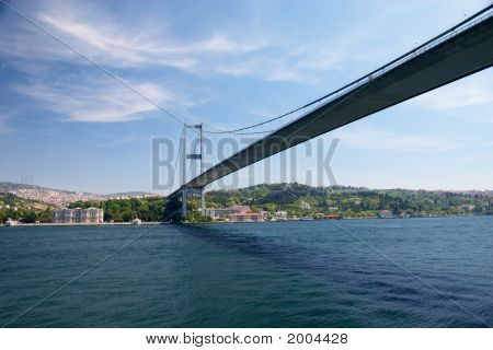 Bridge Over Bosporus Strait