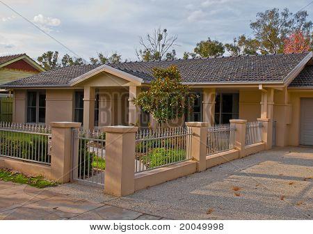 Bungalow Style Suburban House