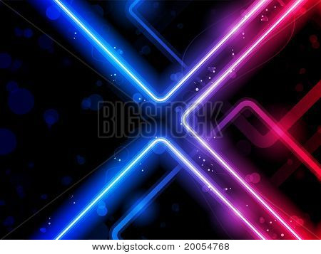 Rainbow  Lines Background Neon Laser