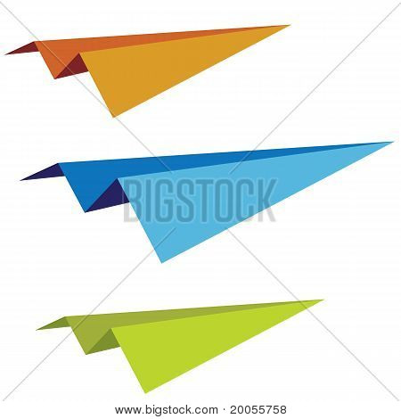 Set Of Paper Planes