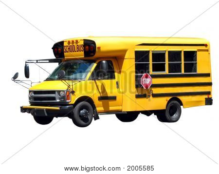 School Bus Isolated